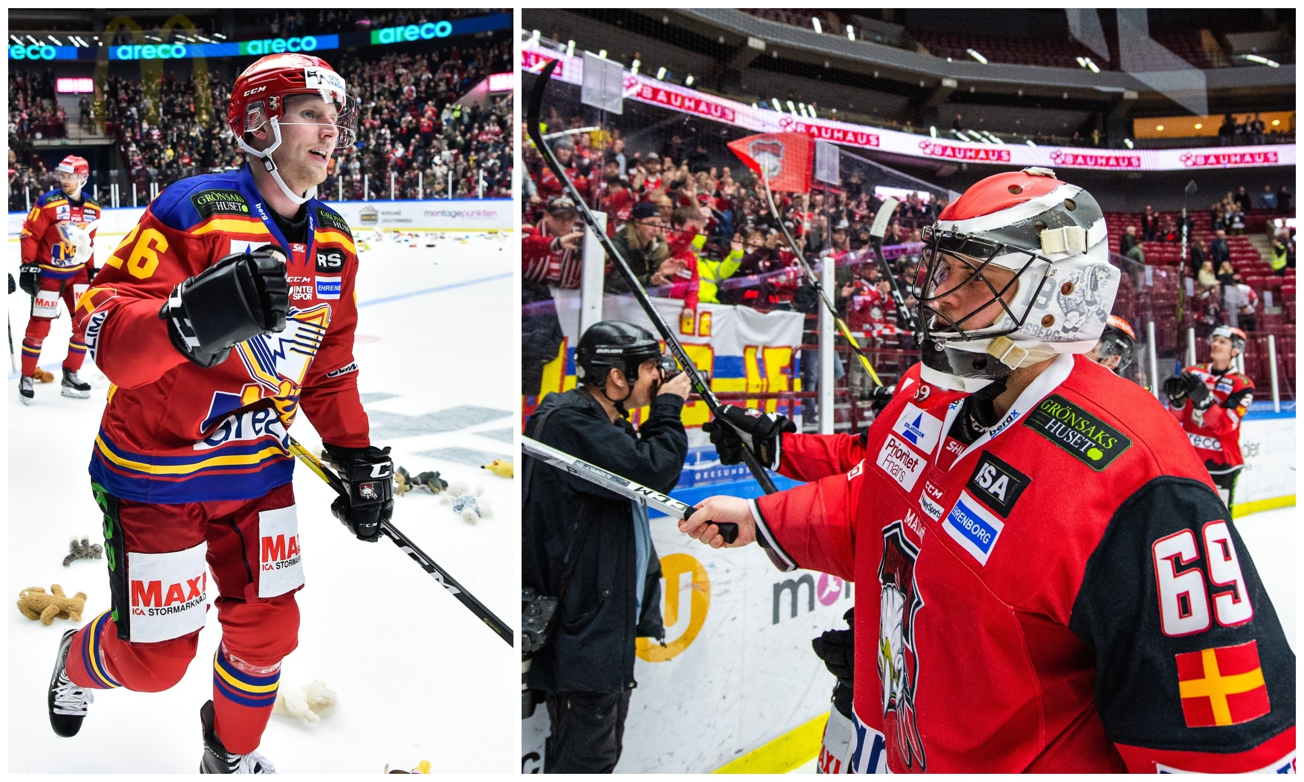 Nallefest utan Malmö Redhawks målvaktsstjärna