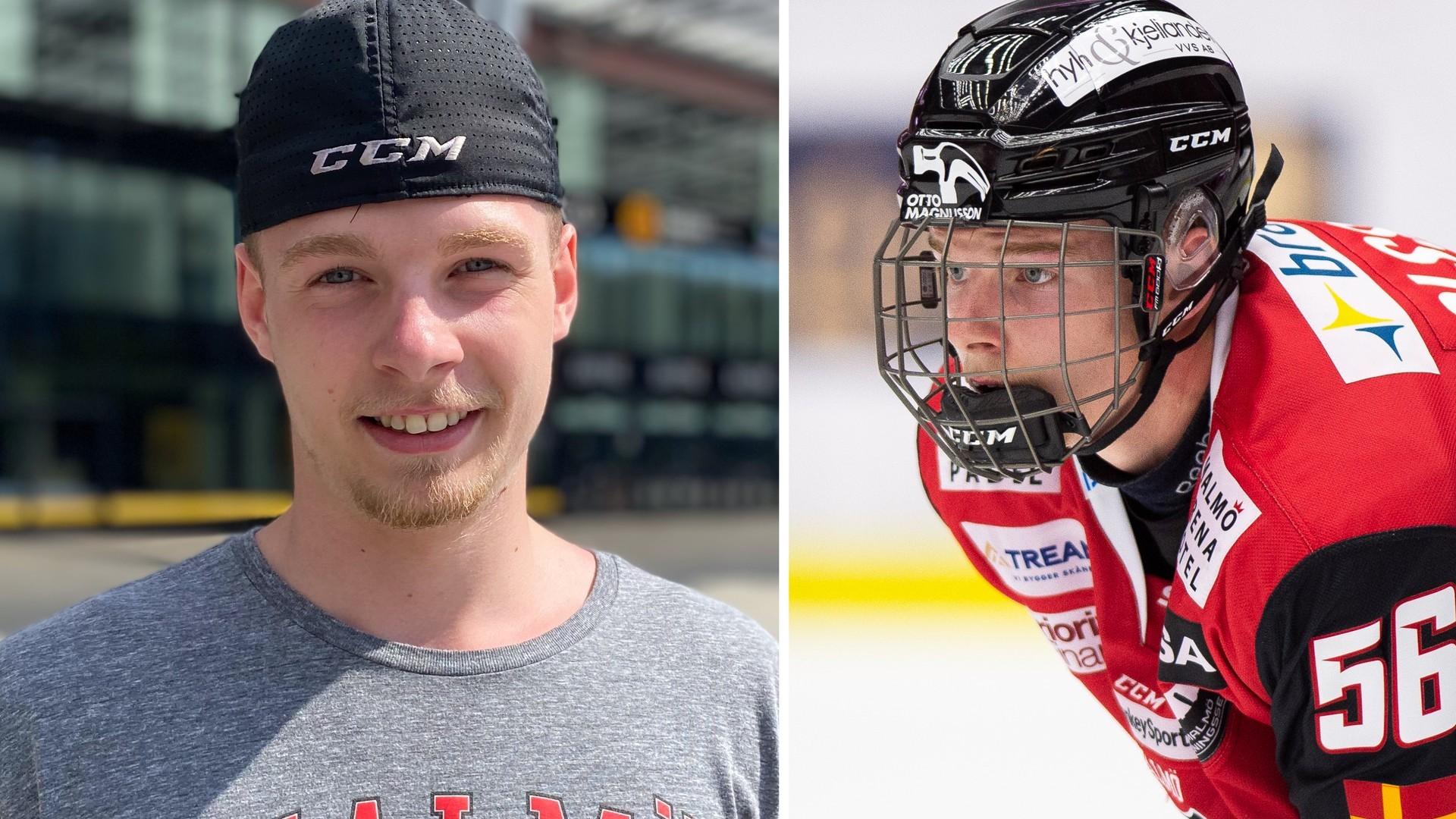 Anton Olsson hoppas bli vald i nattens NHL-draft