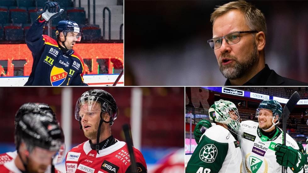 HockeyNews - SHL List: This Week's Five Highs
