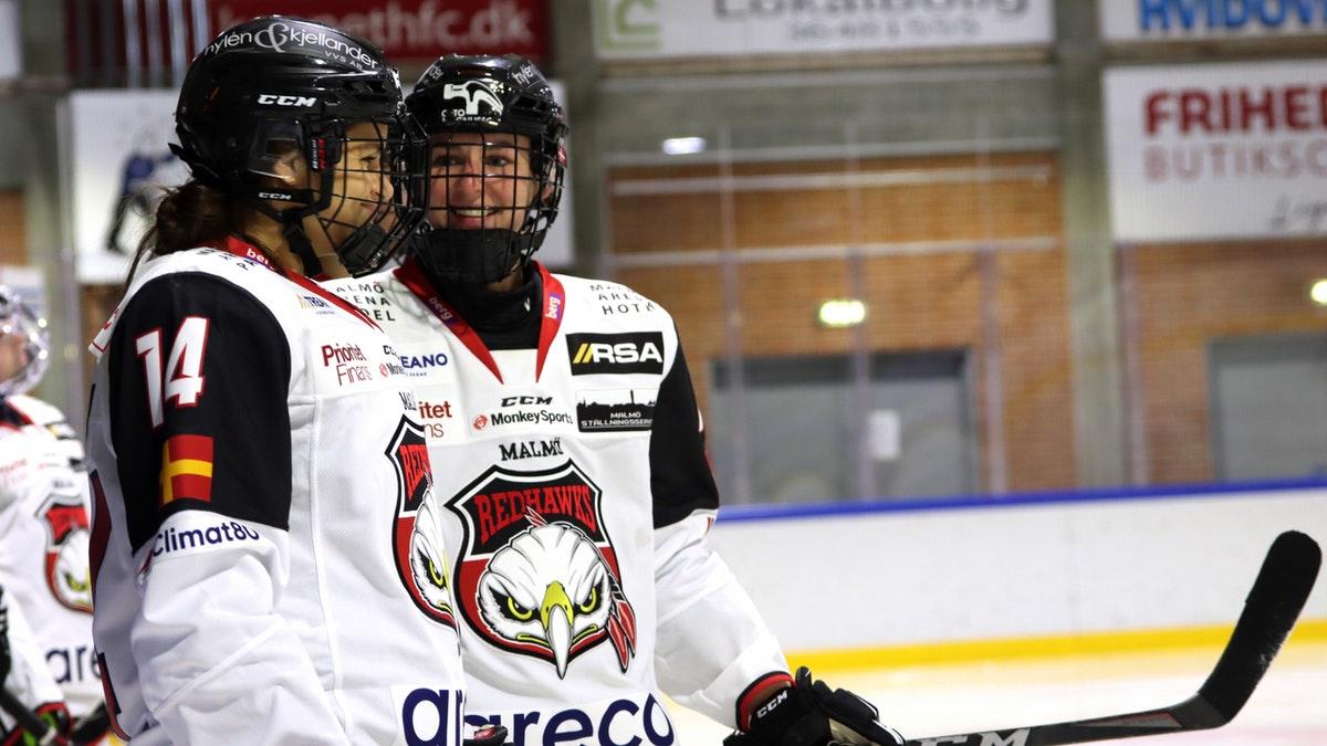 Ny storseger i DamEttan - Malmö Redhawks