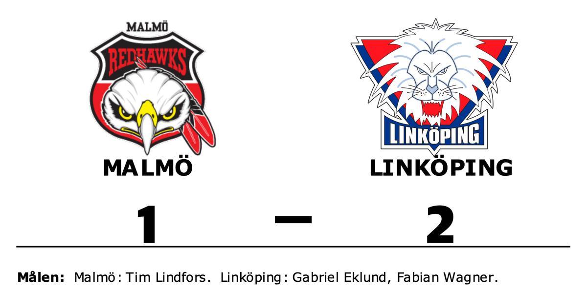 Linköping har nio raka segrar – vann mot Malmö med 2-1