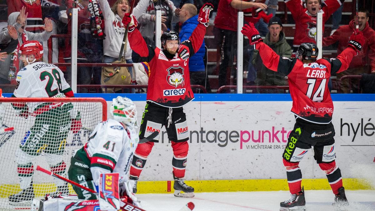 Redhawks vände och vann mot Frölunda