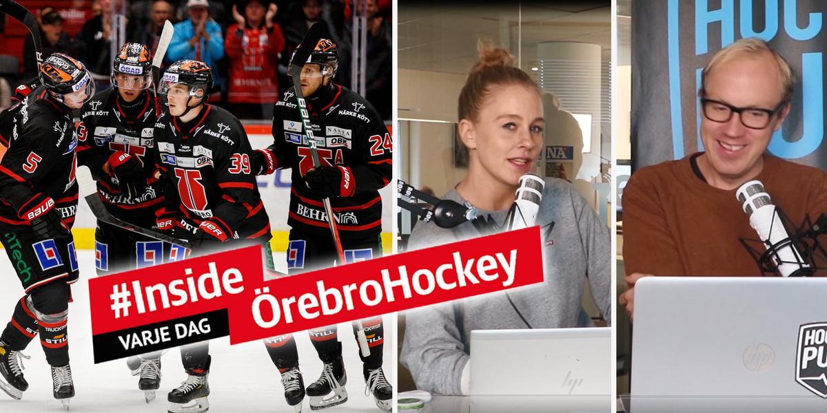 """Första trepoängaren • Örebro Hockeys problem kvarstår: """"Man får snart ha nollvision"""" • Hockeypuls Örebro"""