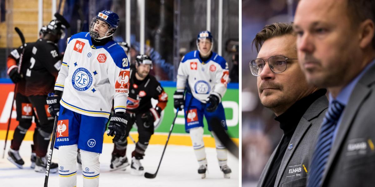 """Stjärnspelarna vilades – då förlorade Leksand: """"Förlust jag kan ta"""""""